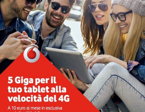 Offerta Internet Vodafone con il raddoppio dei Gigabyte