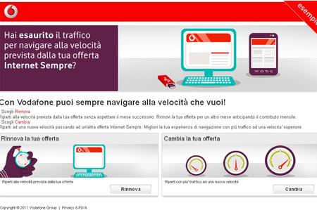 Vodafone Riparti e rinnovi la tua Offerta Internet