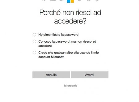 Come recuperare la password di windows phone