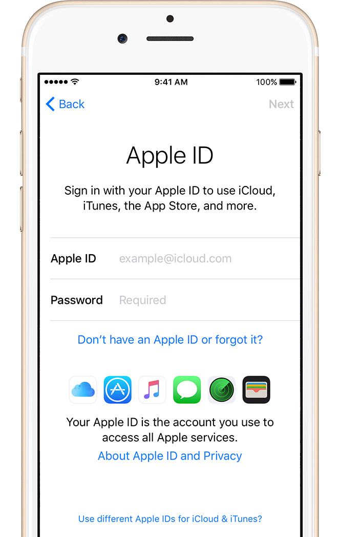 Come recuperare la password di iCloud