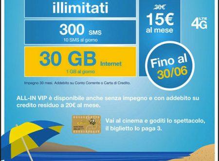 ALL-IN VIP: La Nuova Offerta di Tre Italia