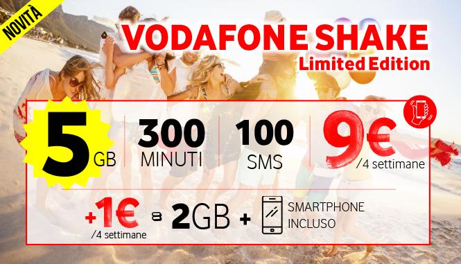 Vodafone Shake Limited Edition