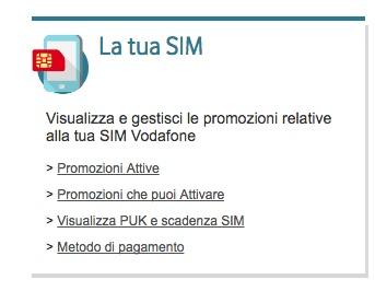 Come disattivare i servizi digitali Vodafone