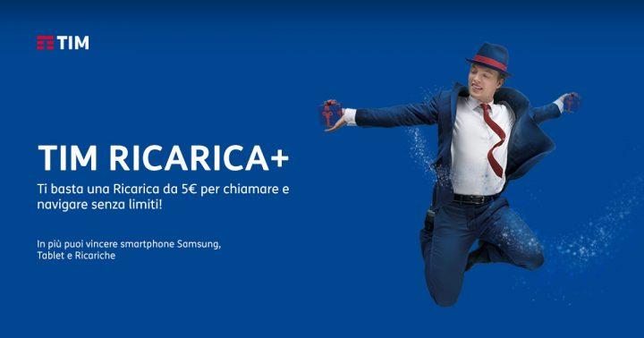 Tim Ricarica+ premi e servizi dopo la ricarica.